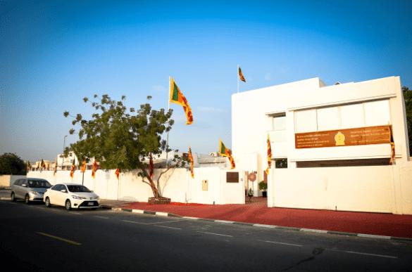 SRI LANKAN EMBASSIES AND CONSULATES