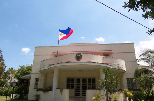FILIPINO EMBASSIES AND CONSULATES