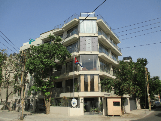 CUBAN EMBASSIES AND CONSULATES