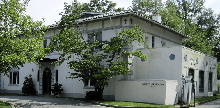 BOLIVIAN EMBASSIES AND CONSULATES