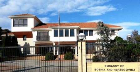BOSNIAN EMBASSIES AND CONSULATES