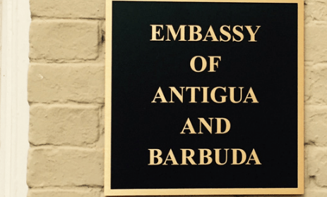 ANTIGUAN & BARBUDAN EMBASSIES AND CONSULATES