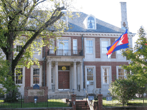 CAMBODIAN EMBASSIES AND CONSULATES