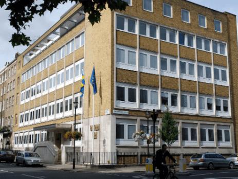SWEDISH EMBASSIES AND CONSULATES