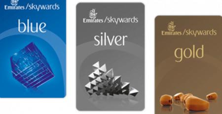 Emirates Mileage Card