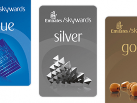 Emirates Mileage Card