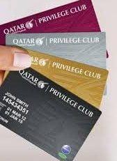 Qatar Airways Privilege Mileage Card