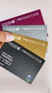Qatar Airways Privilege Mileage Card