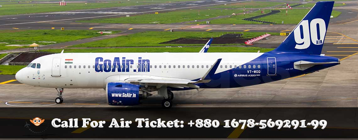 Go Airlines Dhaka office, indian airliines dhaka office, GoAir Ticket Agent Dhaka Office.