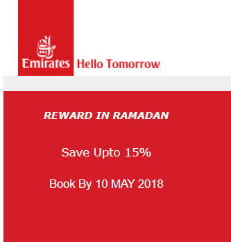 Emirates special offers