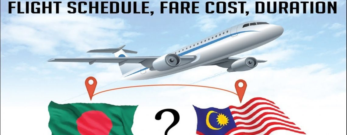 Cheap airlines ticket, Dhaka to Malaysia