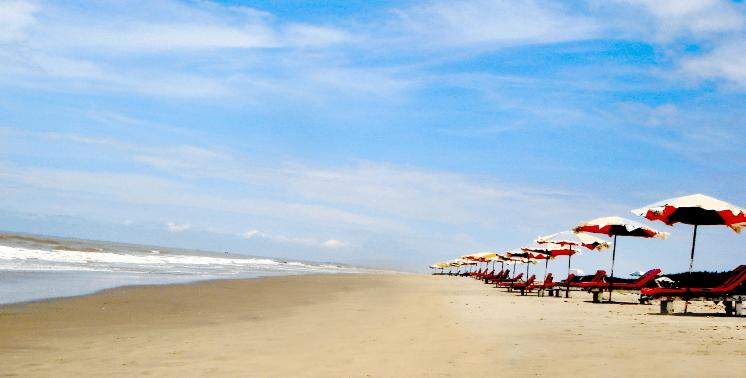 Top places in Bangladesh, Teknaf Sea Beach