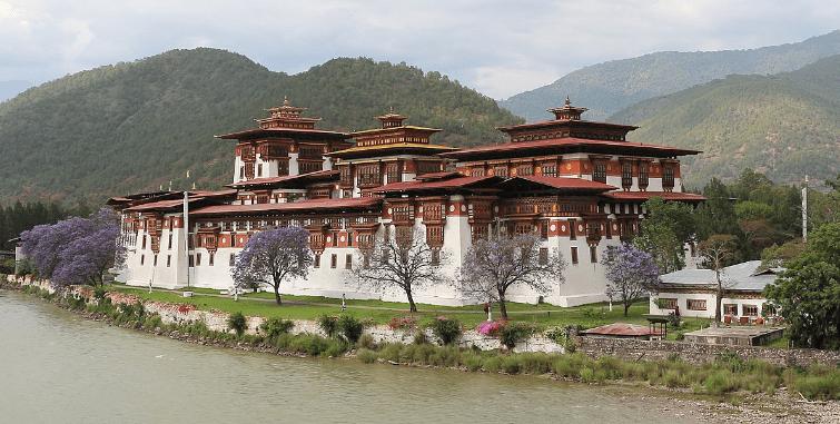 Top place in Bhutan ,Punakha Dzong