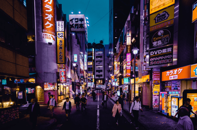 Top places in japan, OSAKA