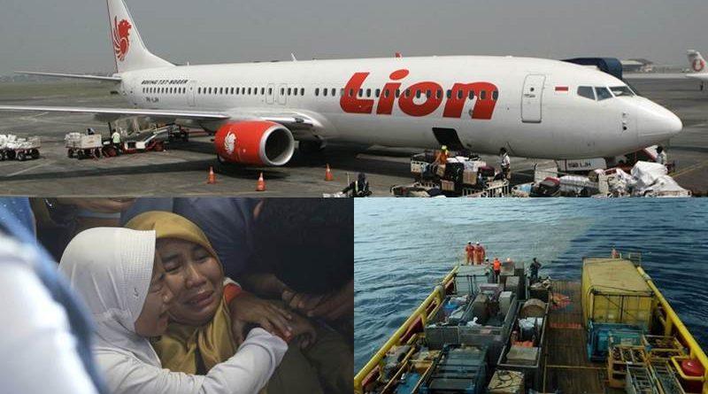 Lion Air Flight crashes