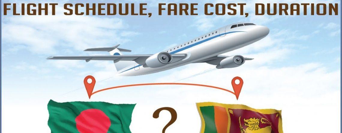 Dhaka to Colombo Flight