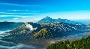 Mount Bromo, top place in Indonesia
