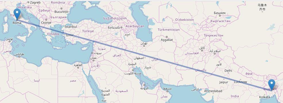 Dhaka To Italy Flight Information