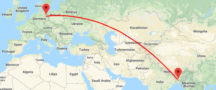 Dhaka to Germany Flight Information