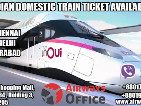 Indian Domestic Train Tickets
