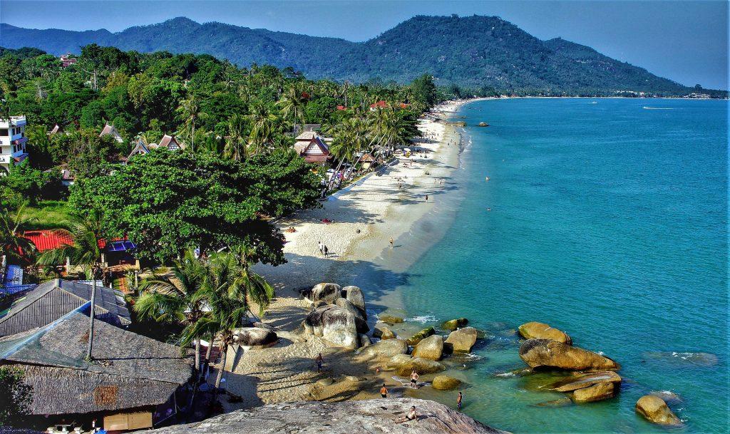 Gulf Island Of Thailand