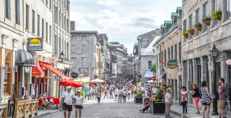 Old Montreal Of Montreal