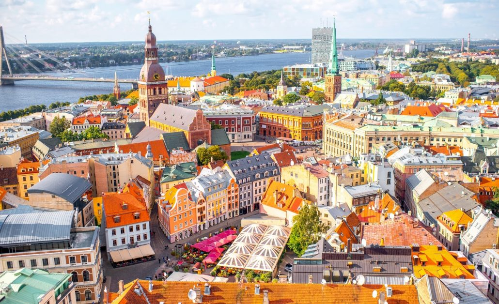 Riga The capital and largest city of Latvia