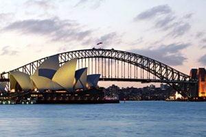 Sydney Harbour Bridge of Australia