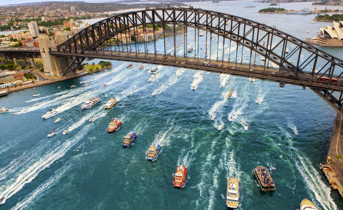 Sydney Harbour Bridge of Australia