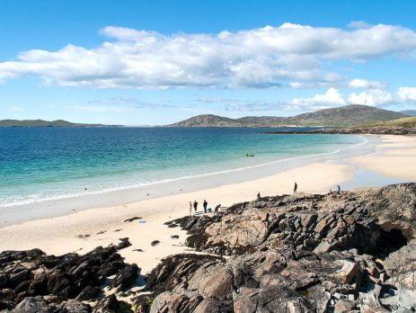 Outer Hebrides of Scotland