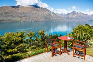 Queens-town South Island In New Zealand
