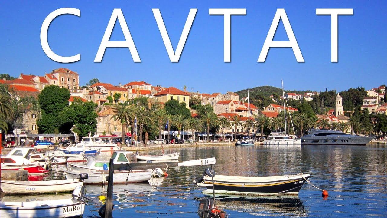 Cavtat A Village in Croatia