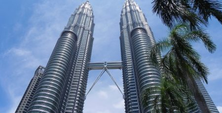 Tourist Attraction Petronas Twin Tower Of Malaysia