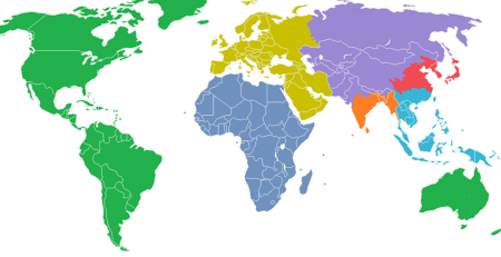 top 100 largest countries by area