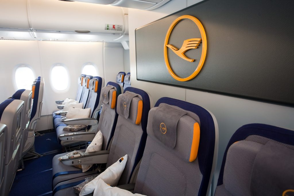 lufthansa airline seat selection