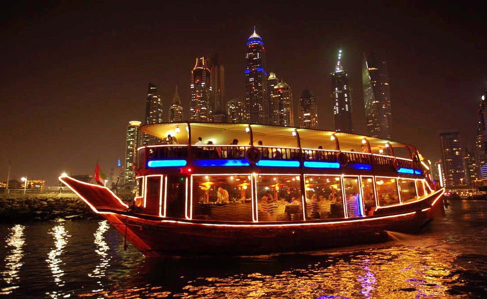 Dubai Cruise Dinner